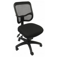 RAPIDLINE MESH BACKED CHAIR, MED BACK OPERATOR FULLY ERGONOMIC