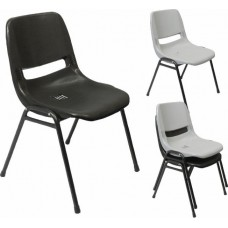 RAPIDLINE VISITORS CHAIR, POLYPROPYLENE, STACKING