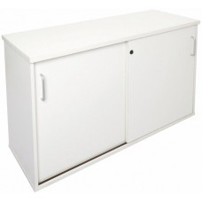 RAPIDSPAN CREDENZA WHITE 1200w X 450d X 730h (Lockable)