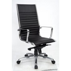 YS DESIGN OFFICE CHAIR COGRA HIGH LEATHER